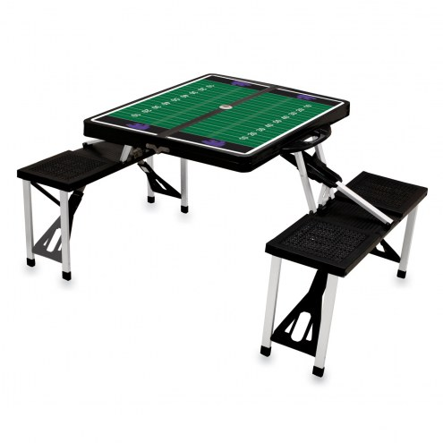 Kansas State Wildcats Sports Folding Picnic Table