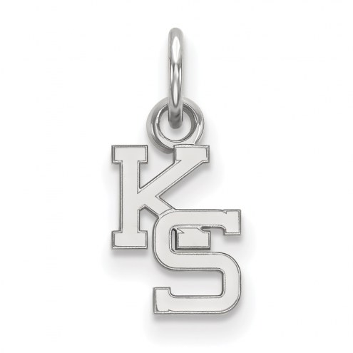Kansas State Wildcats Sterling Silver Extra Small Pendant