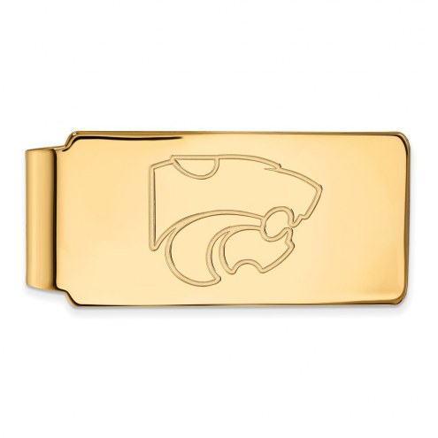 Kansas State Wildcats Sterling Silver Gold Plated Money Clip