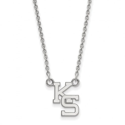 Kansas State Wildcats Sterling Silver Small Pendant Necklace