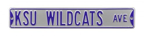 Kansas State Wildcats Street Sign