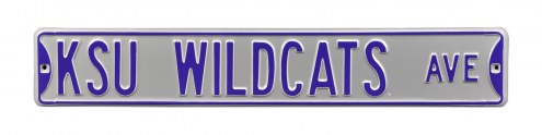 Kansas State Wildcats Street Sign