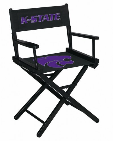 Kansas State Wildcats Table Height Director's Chair