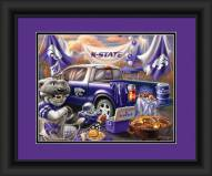 Kansas State Wildcats Tailgate Framed Print