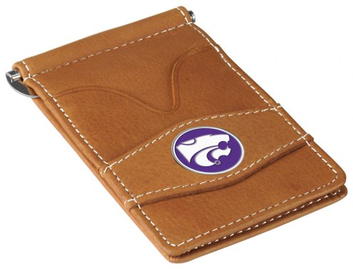 Kansas State Wildcats Tan Player's Wallet