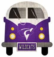 Kansas State Wildcats Team Bus Sign