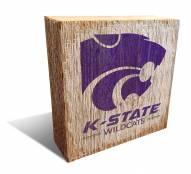 Kansas State Wildcats Team Logo Block