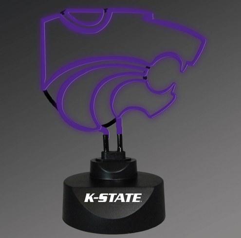Kansas State Wildcats Team Logo Neon Lamp