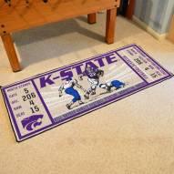 Kansas State Wildcats Ticket Runner Rug