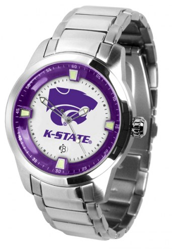 Kansas State Wildcats Titan Steel Men's Watch