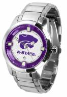Kansas State Wildcats Titan Steel Men's Watch