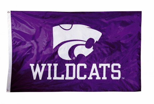 Kansas State Wildcats Two Sided 3' x 5' Flag