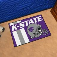 Kansas State Wildcats Uniform Inspired Starter Rug