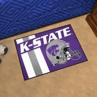 Kansas State Wildcats Uniform Inspired Starter Rug