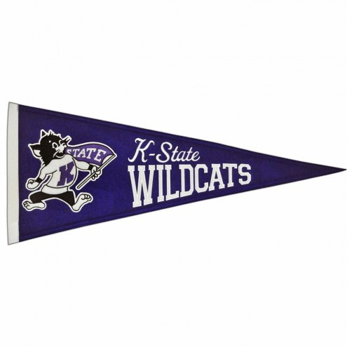 Kansas State Wildcats Vault Traditions Pennant