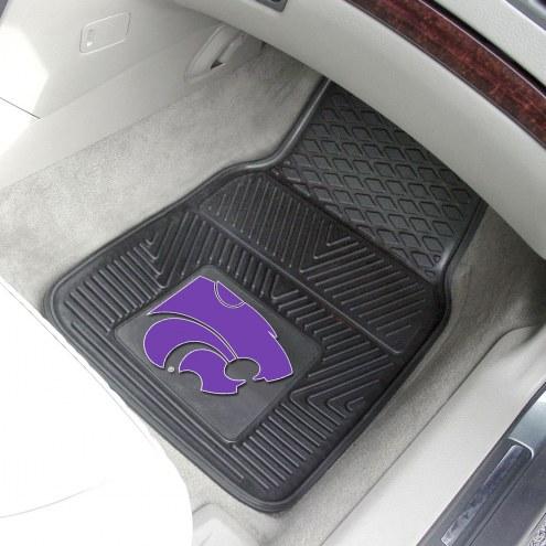 Kansas State Wildcats Vinyl 2-Piece Car Floor Mats