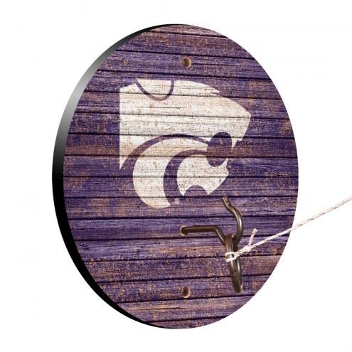 Kansas State Wildcats Weathered Design Hook & Ring Game