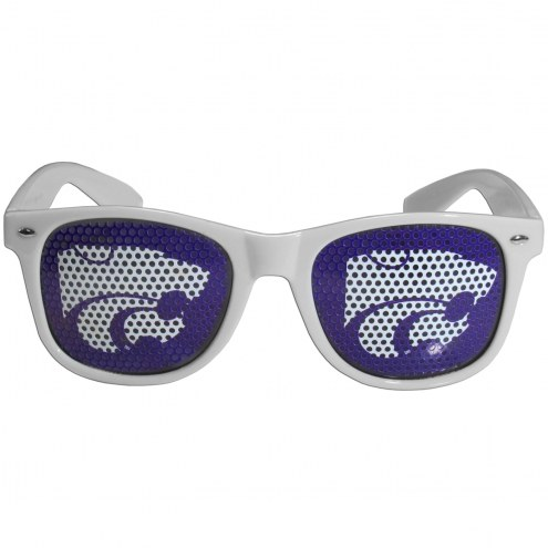 Kansas State Wildcats White Game Day Shades