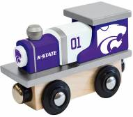 Kansas State Wildcats Wood Toy Train