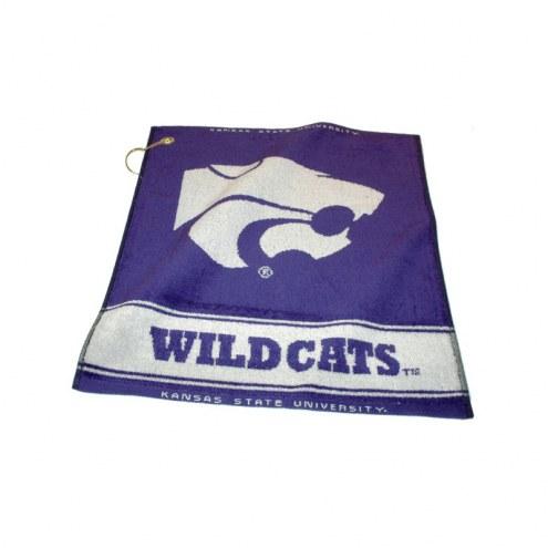Kansas State Wildcats Woven Golf Towel
