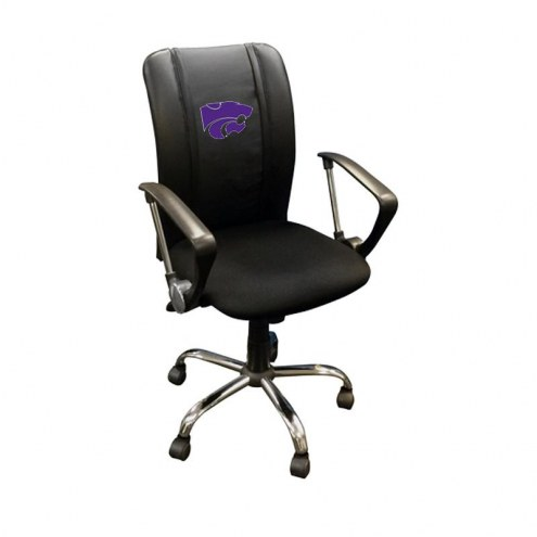 Kansas State Wildcats XZipit Curve Desk Chair