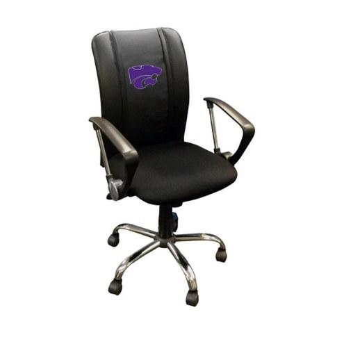 Kansas State Wildcats XZipit Curve Desk Chair