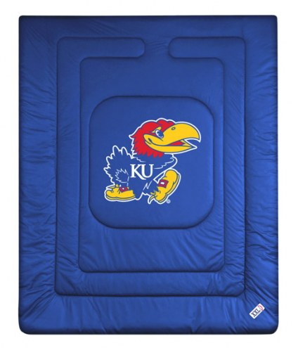 Kansas Jayhawks NCAA Full/Queen Jersey Comforter