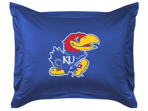 Kansas Jayhawks NCAA Jersey Pillow Sham
