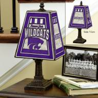 Kansas State Wildcats NCAA Hand-Painted Art Glass Table Lamp
