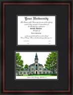 Kansas State University Diplomate Framed Lithograph with Diploma Opening