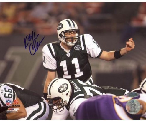 Kellen Clemens Over Center vs. Vikings Horizontal 8 x 10 Photo