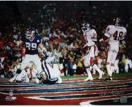 Ken Regan Signed Mark Bavaro SB XXI TD Celebration- Pointing Horizontal 16 x 20 Photo
