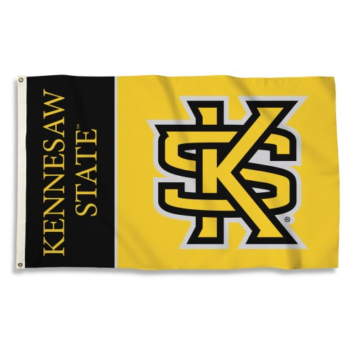 Kennesaw State Owls 3' x 5' Flag