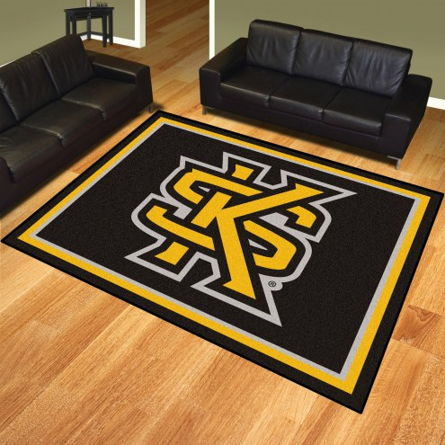 Kennesaw State Owls 8' x 10' Area Rug