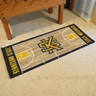 Kennesaw State Owls Basketball Court Runner Rug
