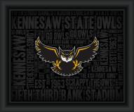Kennesaw State Owls College Word Cloud