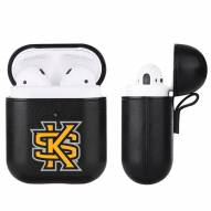 Kennesaw State Owls Fan Brander Apple Air Pods Leather Case