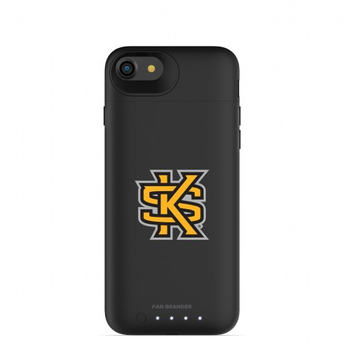 Kennesaw State Owls mophie iPhone 8/7 Juice Pack Air Black Case