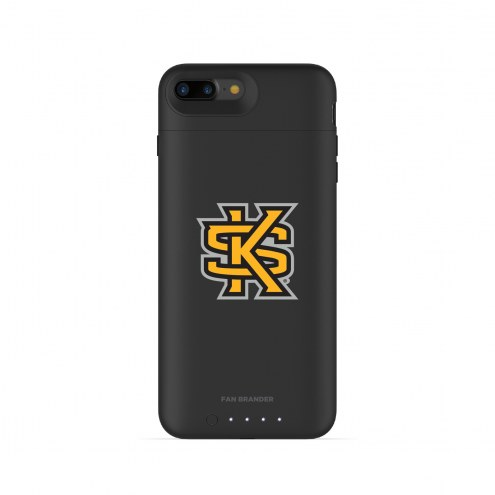 Kennesaw State Owls mophie iPhone 8 Plus/7 Plus Juice Pack Air Black Case