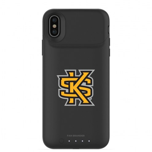 Kennesaw State Owls mophie iPhone X/Xs Juice Pack Air Black Case