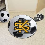 Kennesaw State Owls NCAA Soccer Ball Mat