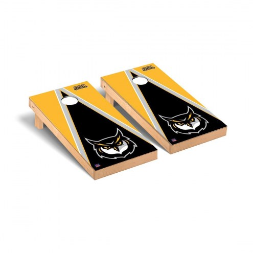 Kennesaw State Owls NCAA Triangle Cornhole Game Set