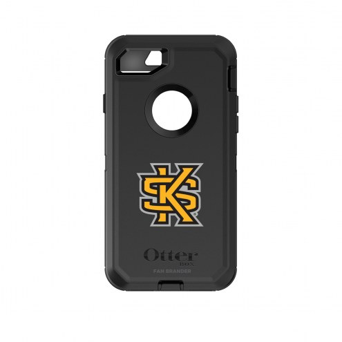 Kennesaw State Owls OtterBox iPhone 8/7 Defender Black Case