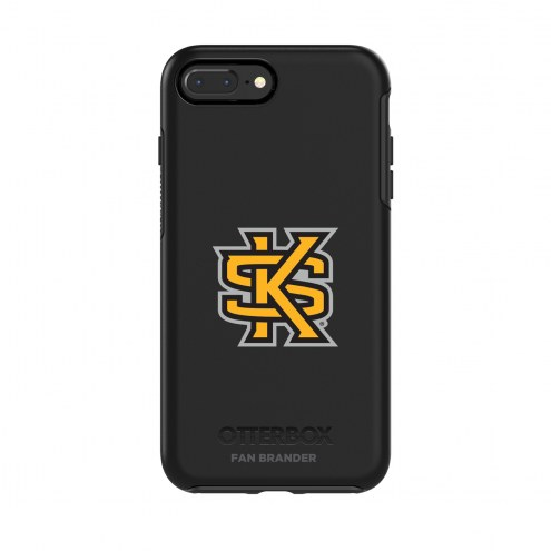 Kennesaw State Owls OtterBox iPhone 8/7 Symmetry Black Case