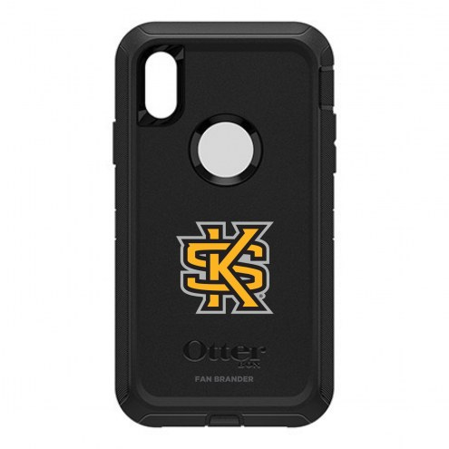 Kennesaw State Owls OtterBox iPhone X/Xs Defender Black Case