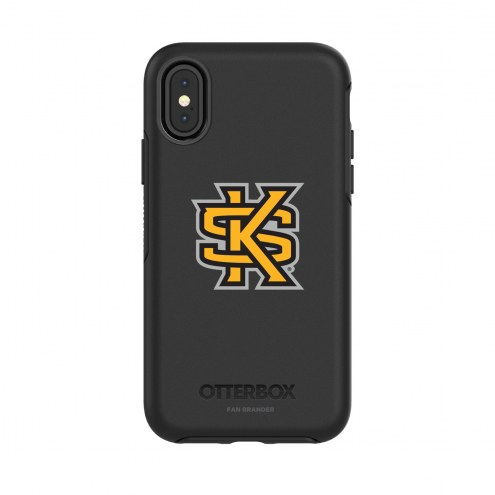 Kennesaw State Owls OtterBox iPhone X/Xs Symmetry Black Case