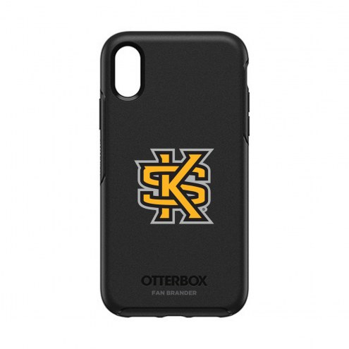 Kennesaw State Owls OtterBox iPhone XR Symmetry Black Case