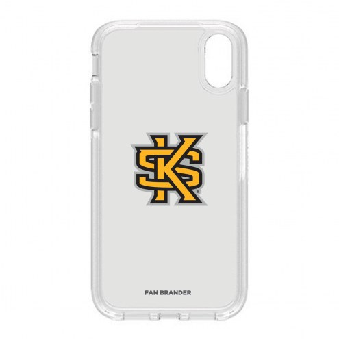 Kennesaw State Owls OtterBox iPhone XR Symmetry Clear Case