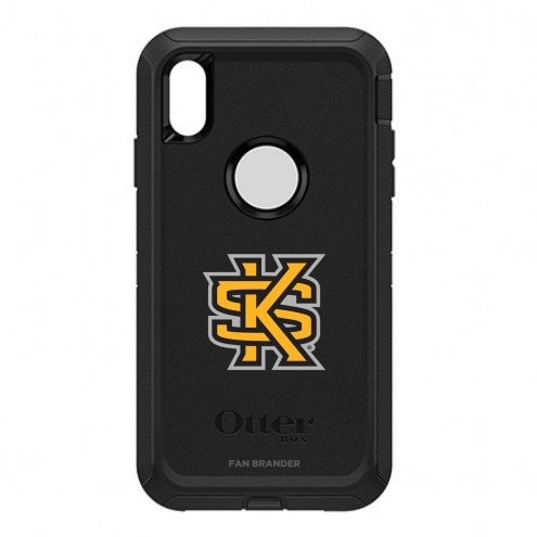 Kennesaw State Owls OtterBox iPhone XS Max Defender Black Case