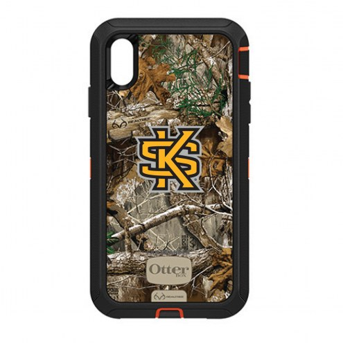 Kennesaw State Owls OtterBox iPhone XS Max Defender Realtree Camo Case